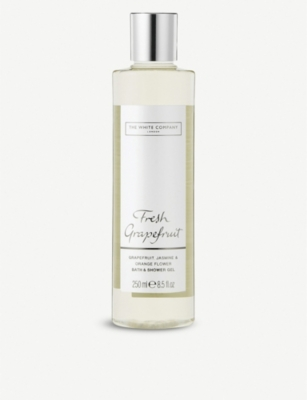 THE WHITE COMPANY Fresh Grapefruit bath and shower gel 250ml