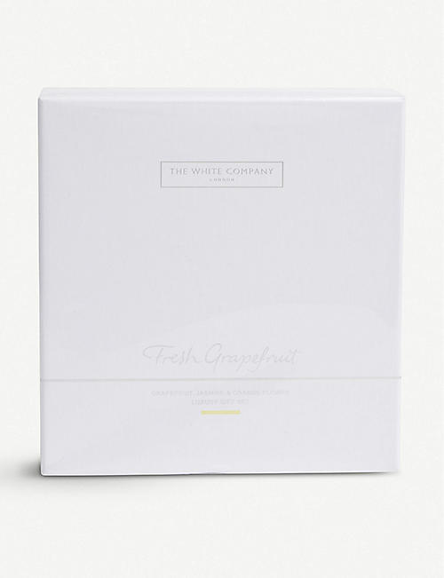 THE WHITE COMPANY Fresh Grapefruit luxury gift set