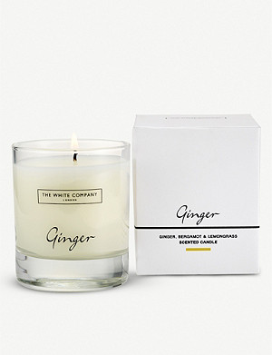 THE WHITE COMPANY Ginger scented candle 140g