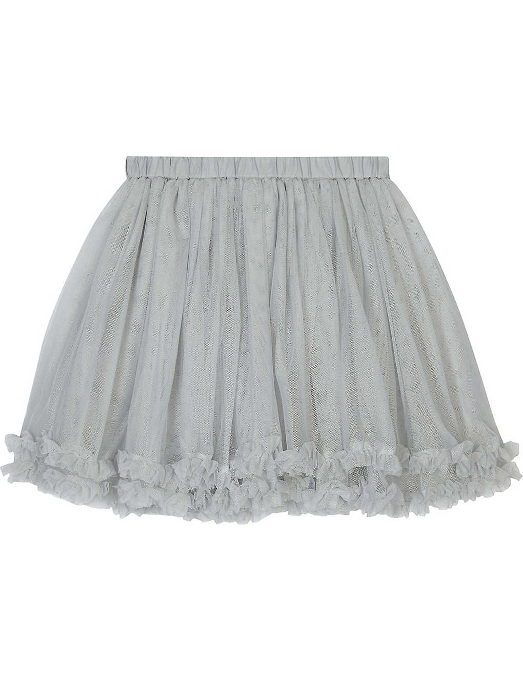 65e22675e THE LITTLE WHITE COMPANY - Frilled tulle tutu skirt 1-6 years ...