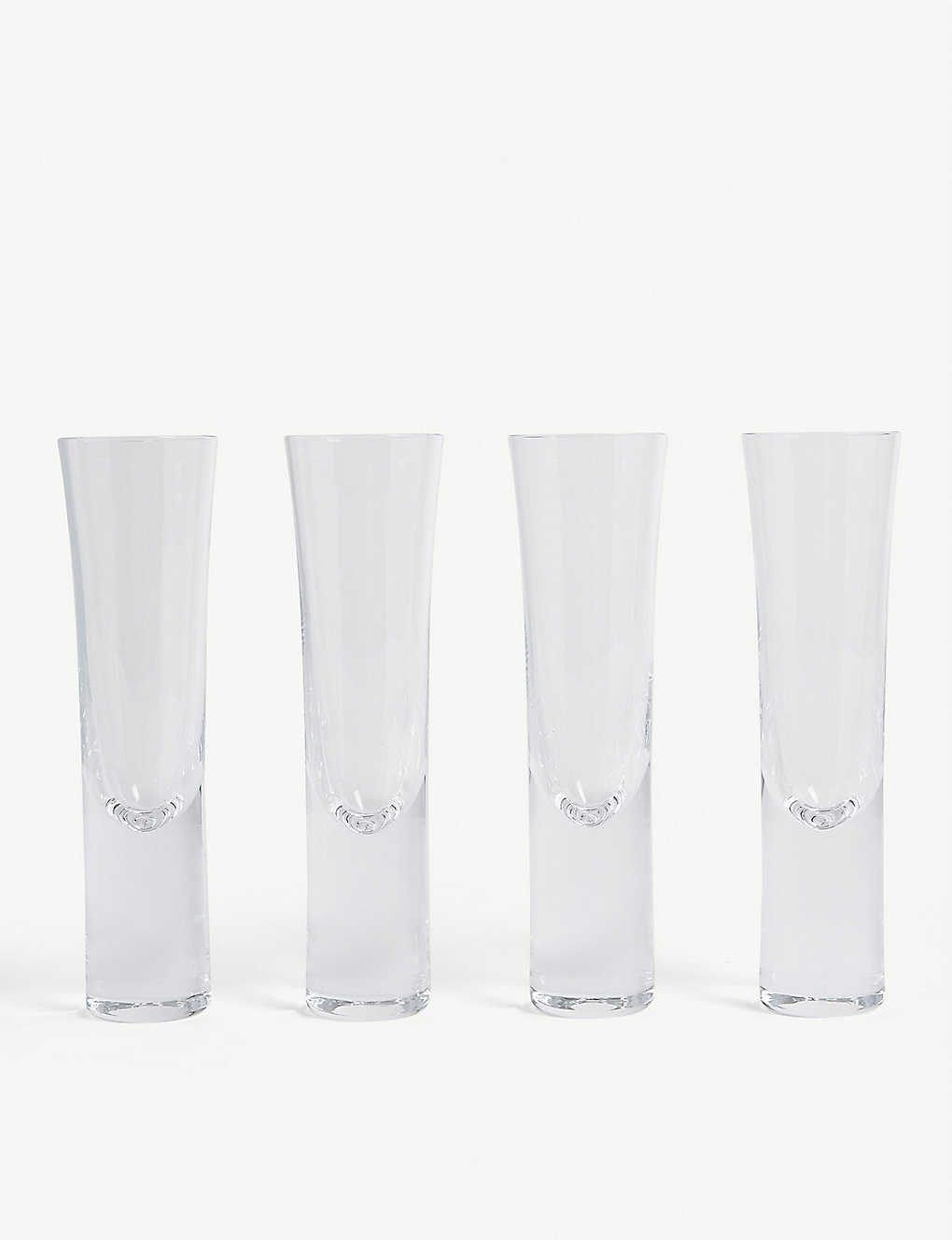 THE WHITE COMPANY: Stemless Champagne flutes set of four