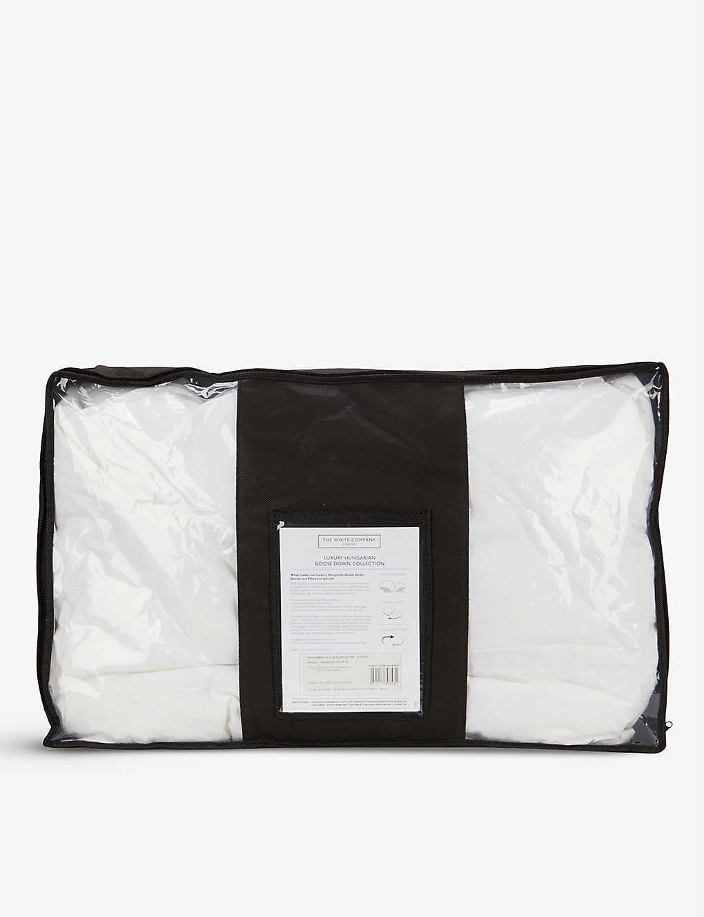 THE WHITE COMPANY: Hungarian goose down and feather 4.5 tog single duvet 140x200cm