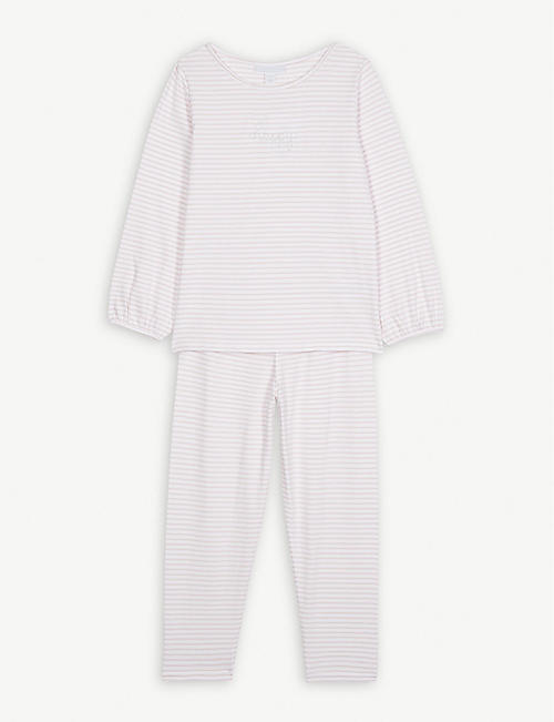 THE LITTLE WHITE COMPANY Happy cotton pyjamas 1-12 years