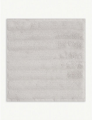 THE WHITE COMPANY: Hydrocotton ribbed face cloth 30cm