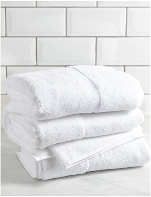 THE WHITE COMPANY Classic hydrocotton face towel 90cm x 50cm