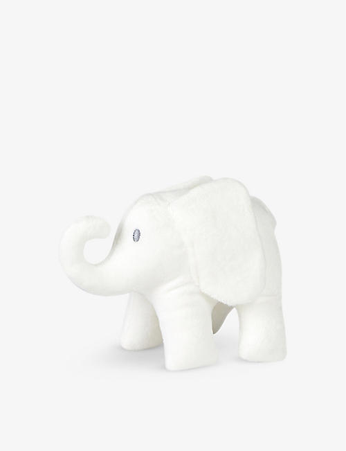 THE LITTLE WHITE COMPANY Indy Elephant soft toy 15cm