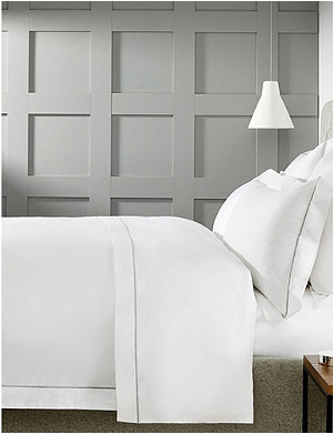 THE WHITE COMPANY Savoy cotton king size duvet cover 225x225cm