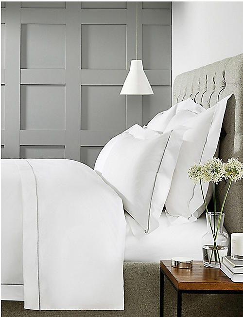 THE WHITE COMPANY Savoy cotton standard Oxford pillowcase 50 x 75cm