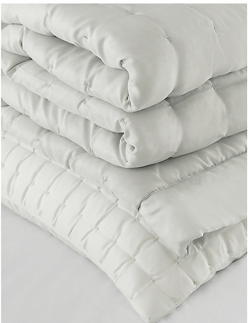 THE WHITE COMPANY Carrington silk-habutai and pure-cotton quilt