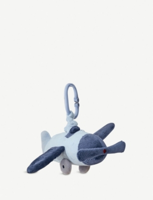 THE LITTLE WHITE COMPANY Jitter Plane toy