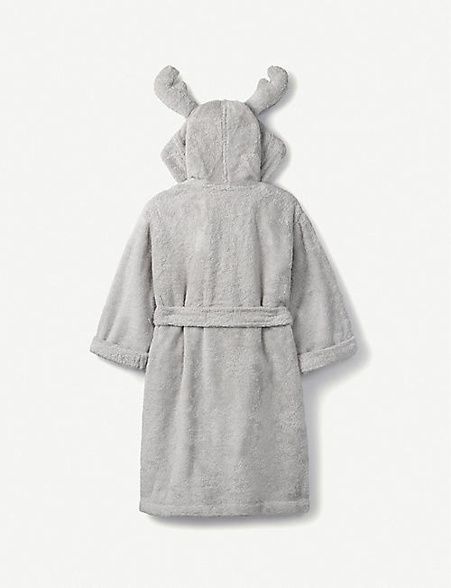 THE LITTLE WHITE COMPANY Jingles hydrocotton dressing gown