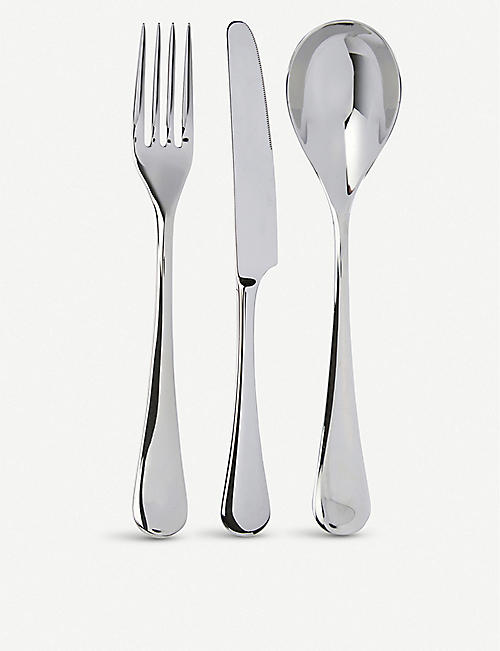 THE WHITE COMPANY Symons stainless steel cutlery set 24-pieces