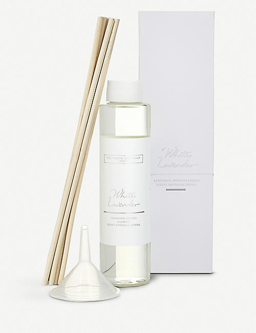 THE WHITE COMPANY: White Lavender diffuser refill 150ml