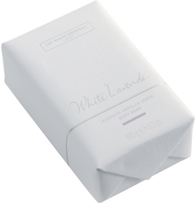 THE WHITE COMPANY White lavender soap 150g