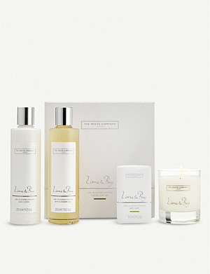 THE WHITE COMPANY Lime & Bay luxury gift set