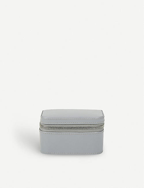 THE WHITE COMPANY Leather trinket & cufflink box