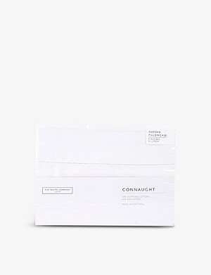THE WHITE COMPANY Connaught cotton silk pillowcase 50x75cm