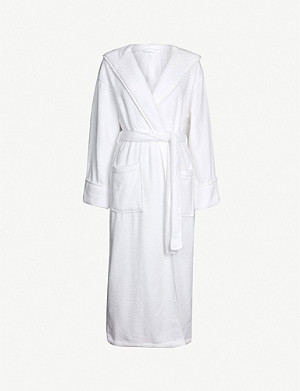 THE WHITE COMPANY Hooded hydrocotton robe