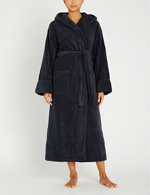 THE WHITE COMPANY - Lace trim jersey dressing gown  d85051643