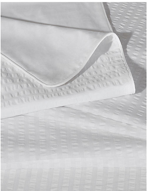 THE WHITE COMPANY Devon cotton double duvet cover 200x200cm