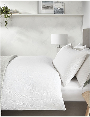 THE WHITE COMPANY Devon cotton single duvet cover 140x200cm