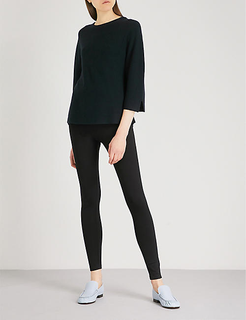 THE WHITE COMPANY Luxury stretch-jersey leggings