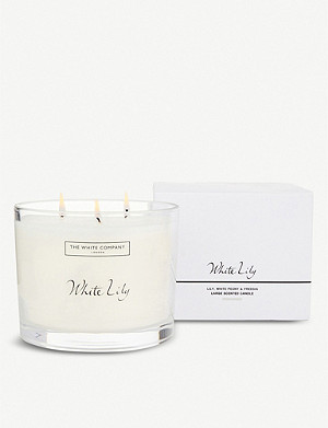 THE WHITE COMPANY White Lily large scented candle 770g