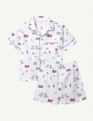 THE LITTLE WHITE COMPANY London-print pyjamas set 1 – 12 years