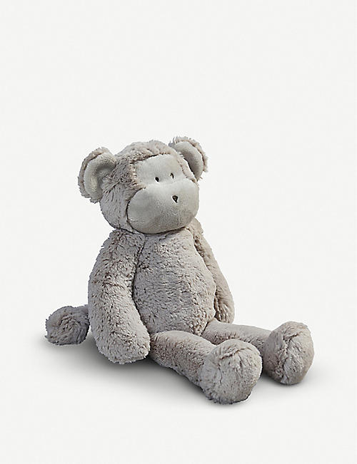 THE LITTLE WHITE COMPANY Marcelle Monkey soft toy 35cm
