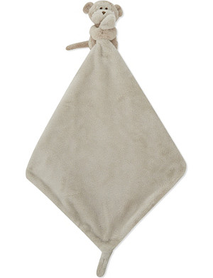 THE LITTLE WHITE COMPANY Monkey comforter 14cm