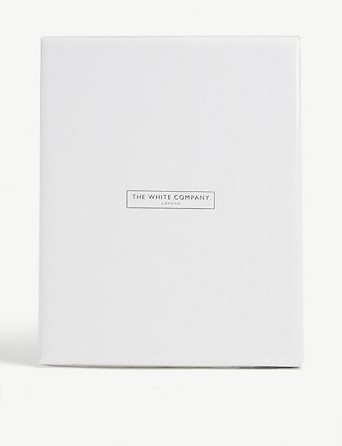 THE WHITE COMPANY: Matte easel photo frame 20cm x 16cm