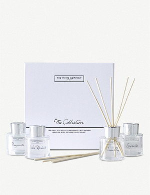 THE WHITE COMPANY The Collection mini diffuser set of four 200ml