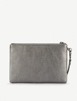 THE WHITE COMPANY Mini leather clutch
