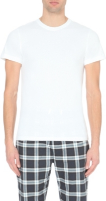 THE WHITE COMPANY Short-sleeved cotton-jersey t-shirt