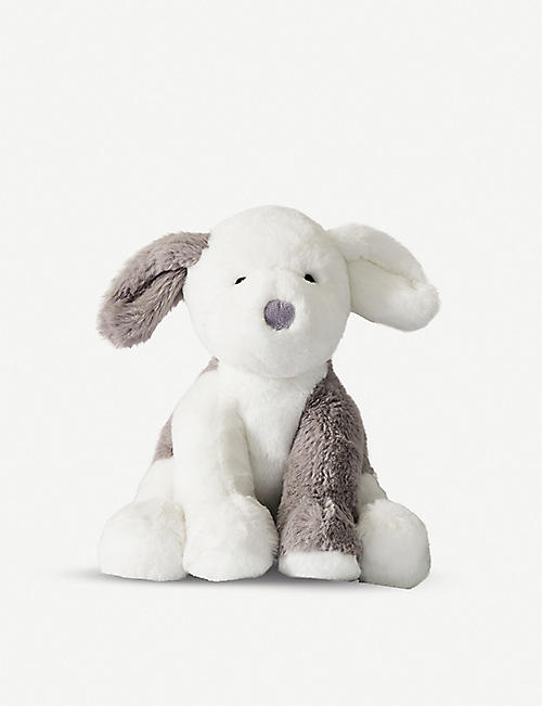 THE LITTLE WHITE COMPANY Milo sheepdog soft toy 23cm