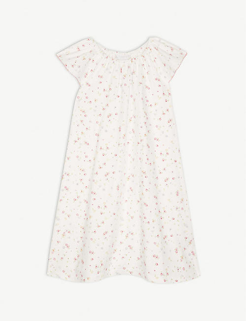 THE LITTLE WHITE COMPANY Annabel floral cotton nightdress 1-12 years fb9c54570