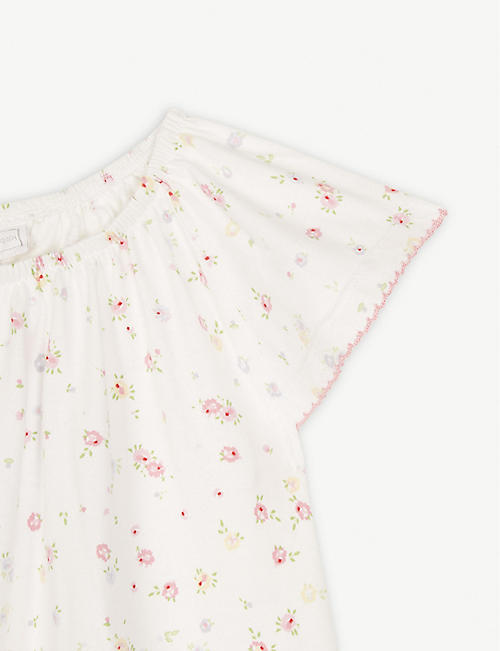 THE LITTLE WHITE COMPANY Annabel floral cotton nightdress 1-12 years