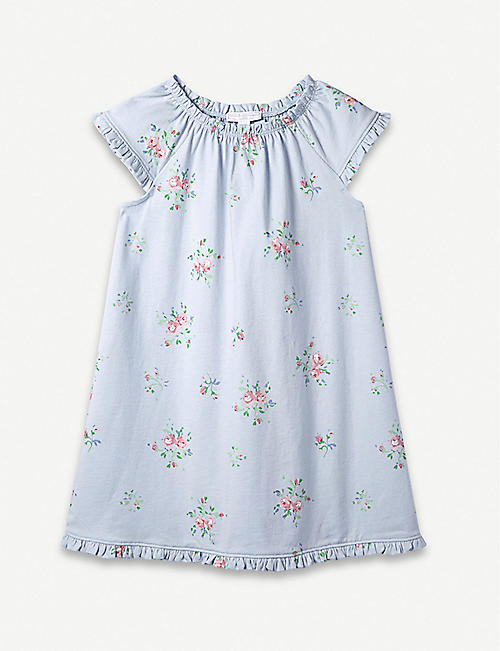 7add1a9adb60 THE LITTLE WHITE COMPANY Rosie cotton nightdress 1 - 12 years
