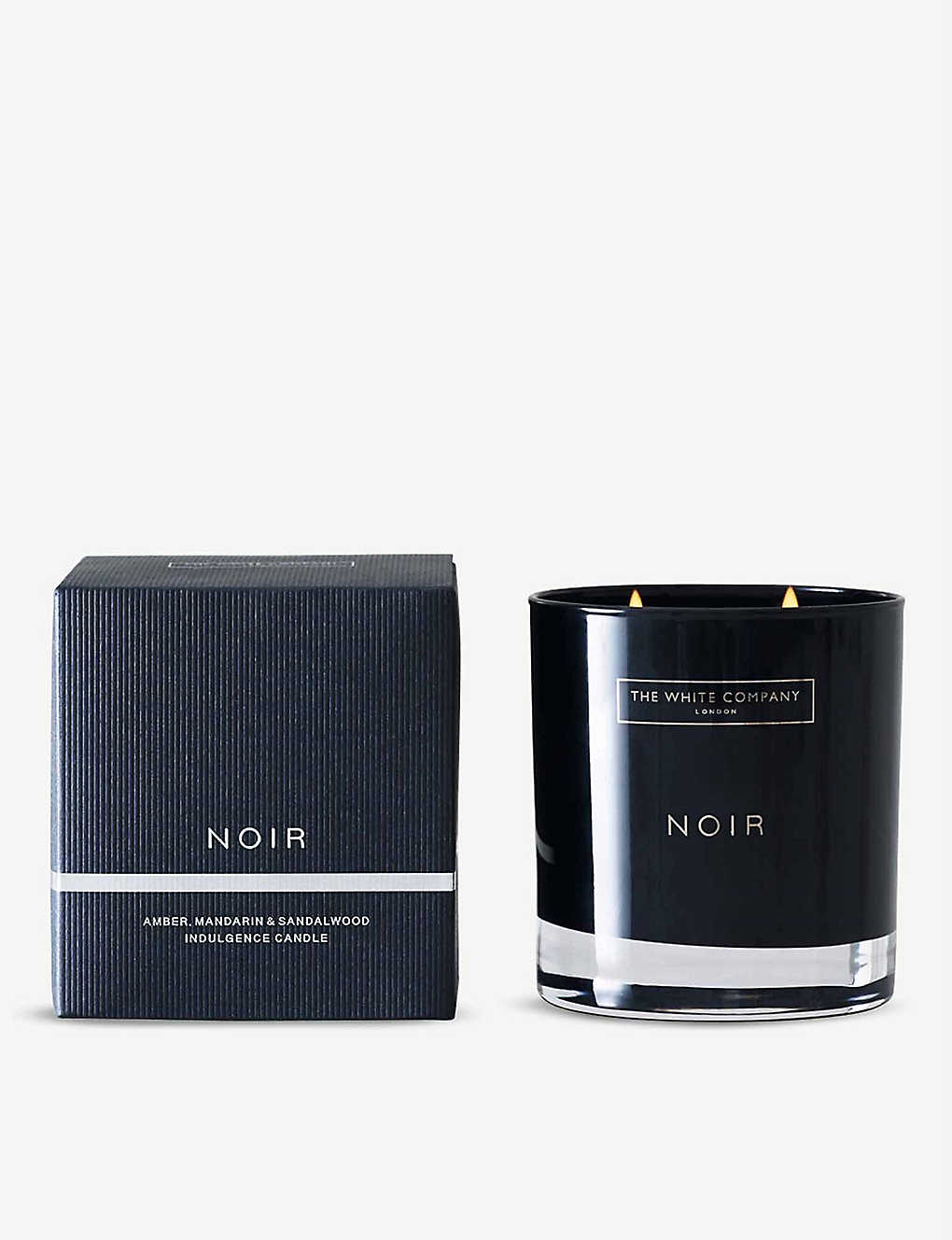 THE WHITE COMPANY: Noir two-wick candle
