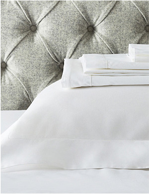 THE WHITE COMPANY Genoa king flat sheet 275x275cm