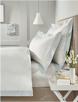 THE WHITE COMPANY Camborne cotton-sateen super king duvet cover 260x220cm