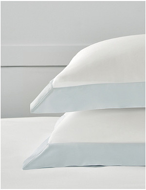 THE WHITE COMPANY Camborne cotton-sateen standard pillowcase 50x75cm