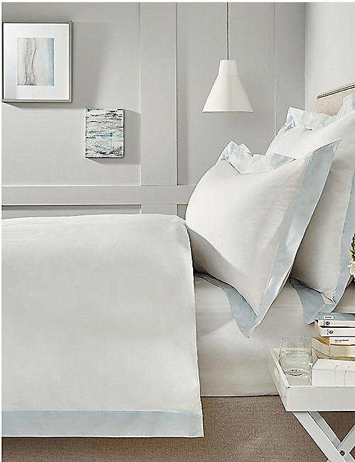 THE WHITE COMPANY Camborne cotton-sateen flat sheet 230x275cm