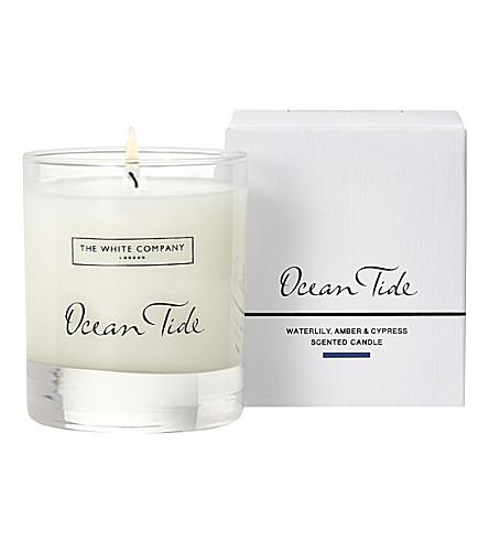 THE WHITE COMPANY - Ocean Tide Signature candle 140g | Selfridges com