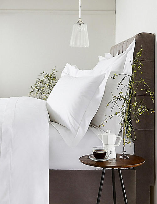 THE WHITE COMPANY: Savoy standard oxford cotton pillowcase