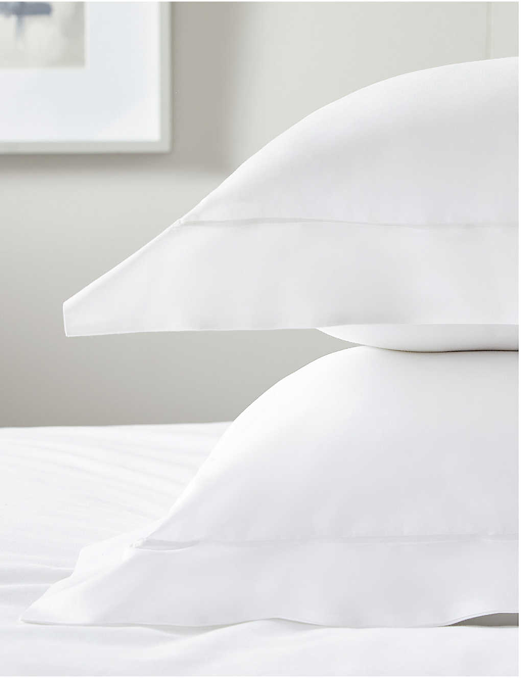 THE WHITE COMPANY: Savoy cotton oxford super king pillowcase