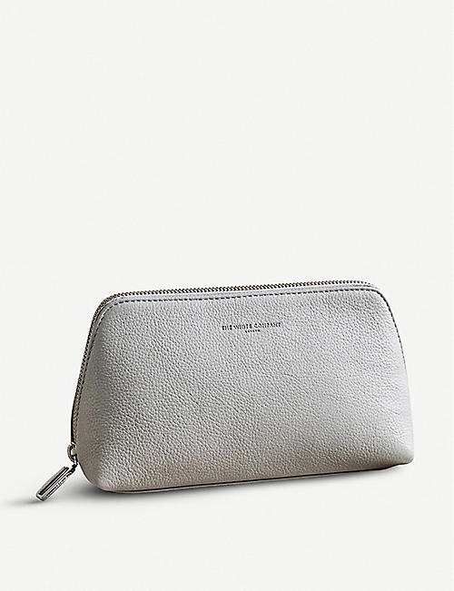 THE WHITE COMPANY: Pebblegrain leather make-up bag