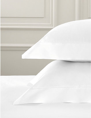 THE WHITE COMPANY: Pimlico Oxford pillowcase super king 50cm x 90cm