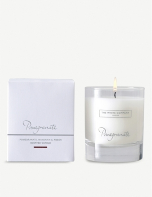 THE WHITE COMPANY Pomegranate scented candle 140g