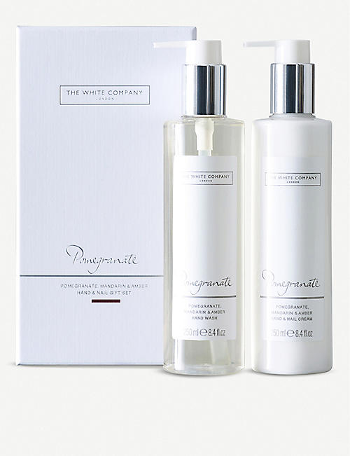 THE WHITE COMPANY Pomegranate Hand & Nail Gift Set
